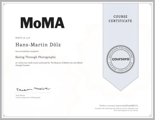 'Coursera QT649PQKCJTL Hans Martin Doelz '