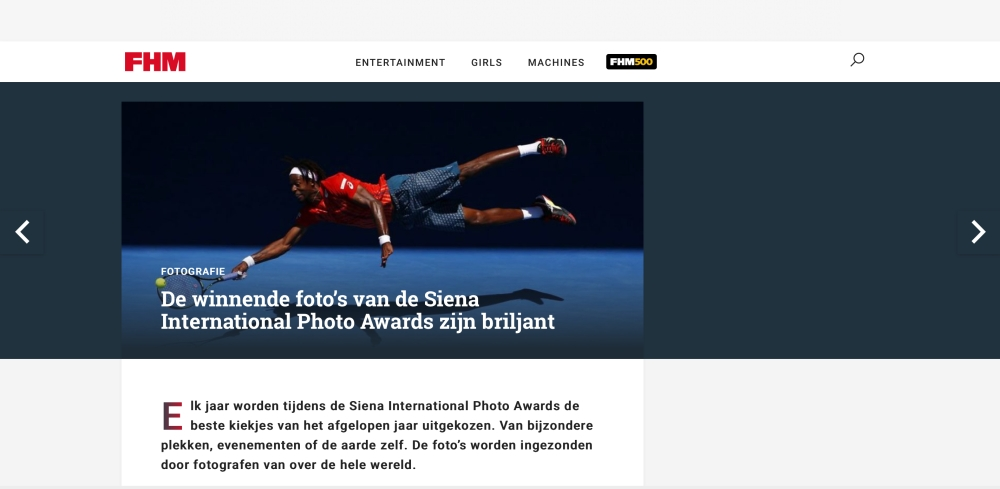 FHM Netherlands SIPA 2017
