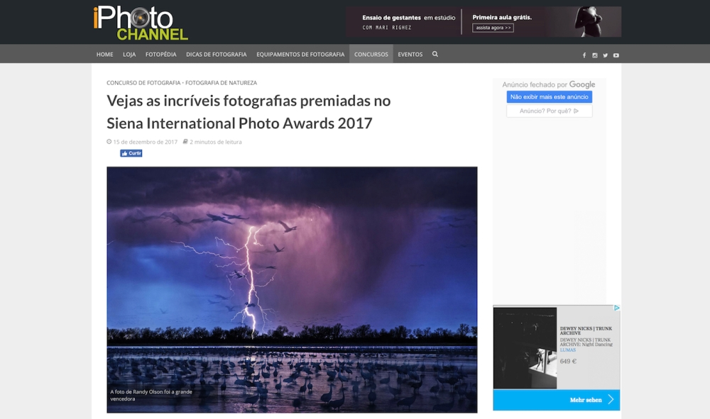 iPhoto Channel Brazil SIPA 2017