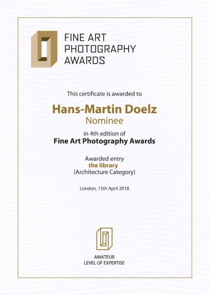 FAPA_4th_Edition_Certificate Hans-Martin Doelz
